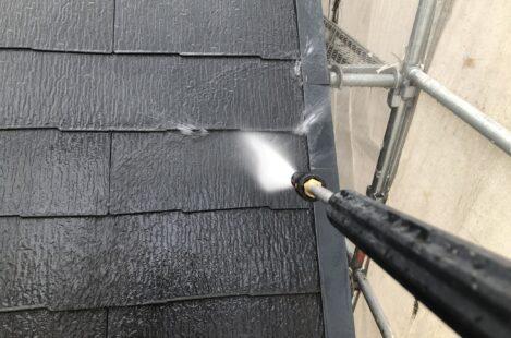 外壁塗装 春日井市 カラーベスト高圧洗浄