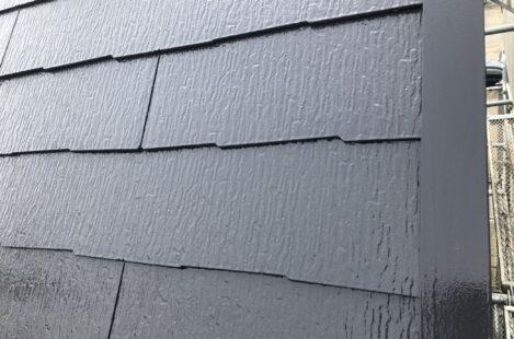 外壁塗装 春日井市 カラーベスト 遮熱塗料サーモアイSi 上塗り完了