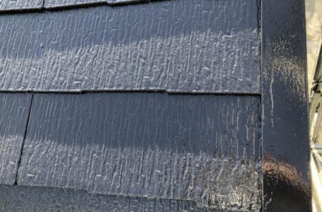 外壁塗装 春日井市 屋根遮熱塗料サーモアイSi 中塗り