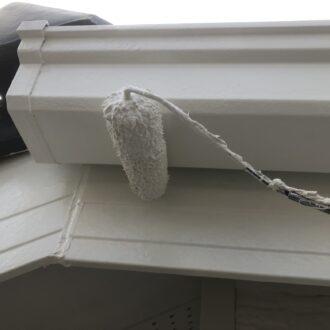 外壁塗装 春日井市 家の塗り替え 樋の塗装
