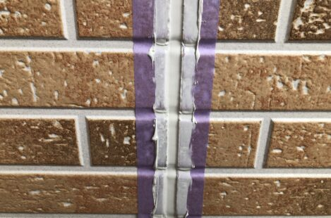 外壁塗装 春日井市 家の塗り替え コーキング打ち替え