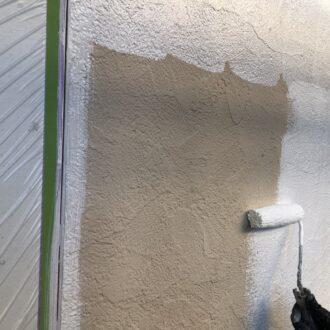 外壁塗装 春日井 家の塗り替え 下塗り